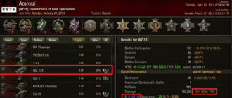 О КПД в World of Tanks