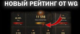 Калькуляторы рейтинга эффективности World of Tanks